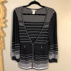 🌟Perfect Nanette Lepore deep V sweater. You will